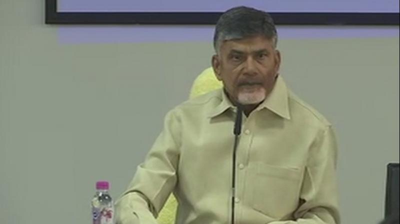 Andhra Pradesh CM N. Chandrababu Naidu (Photo: ANI/Twitter)