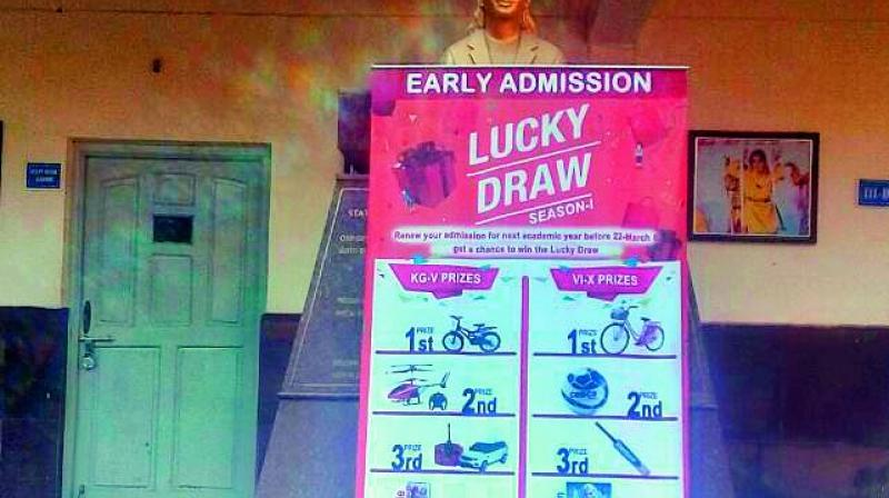 When Healthcare Is All In Luck Of Draw >> School In Hyderabad Plans Lucky Draw To Push Up Admissions