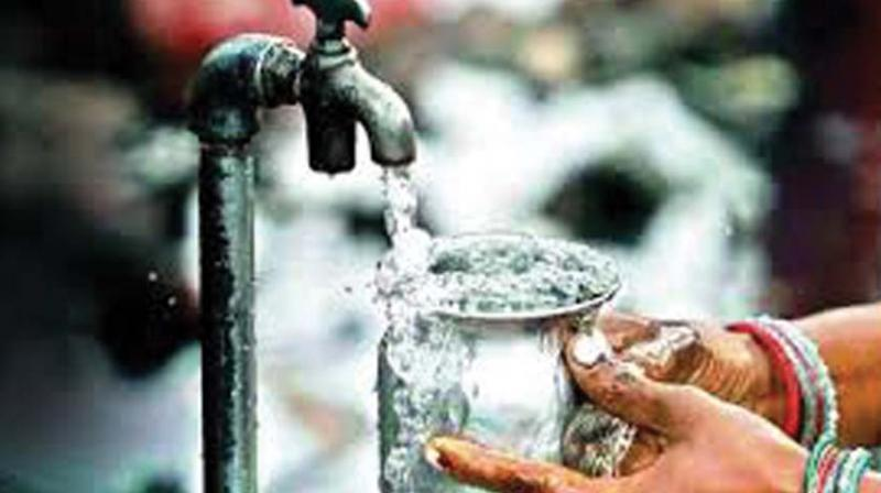 In state-level performance in water resource management, Telangana state  is eighth out of 17 states.
