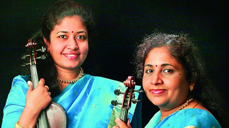 The  talented pair, apart from  performing violin duets, have also collaborated with  musicians working on varied  genres of music.