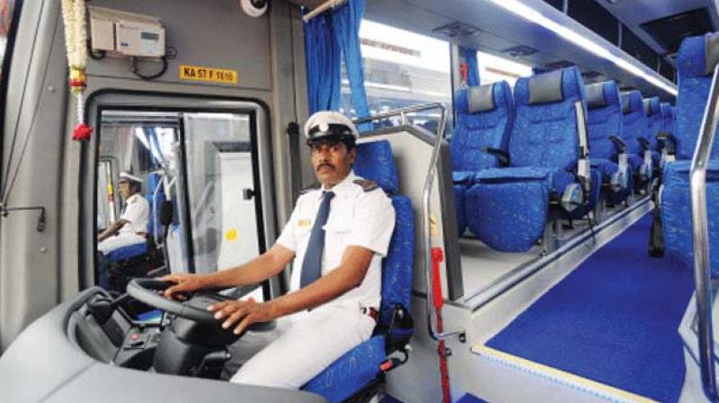 A senior BMTC officer said that in the first phase, 15 buses will be equipped with high-definition screens and each bus will have two screens.
