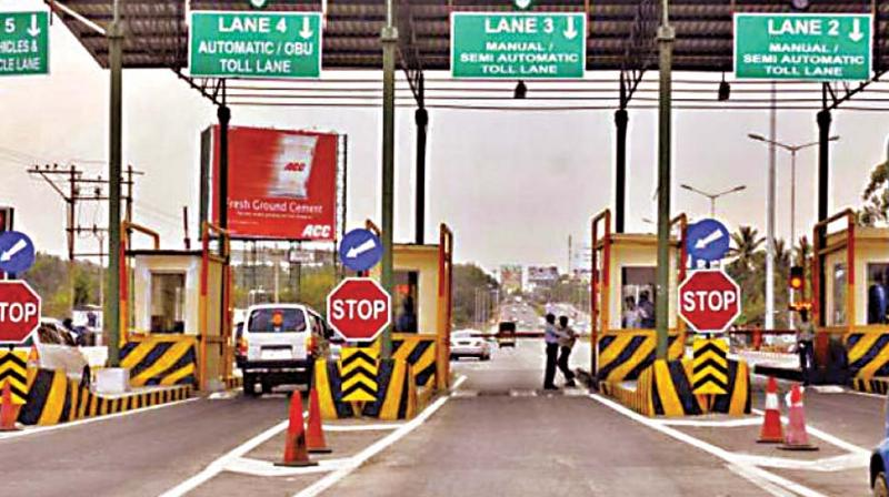 Till now the toll was collected only on the return journey from the airport,  exempting passengers flying out of the city from paying it.
