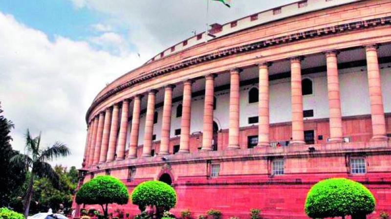 Lok Sabha adjourned till tomorrow over Cauvery row