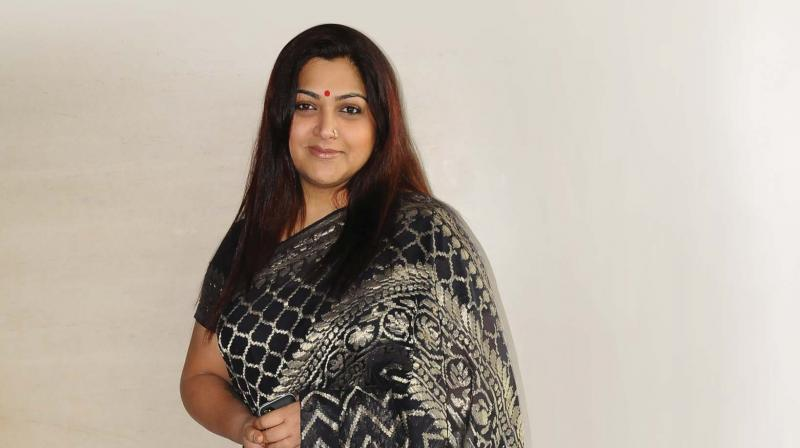 Container truck rams into car carrying Khushbu Sundar, actor unhurt - Deccan Chronicle