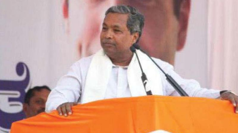 Chief Minister Siddaramaiah, who has been contesting from the Varuna constituency since 2008, will contest from Chamundeshwari constituency in Mysuru this election. (Photo: File)