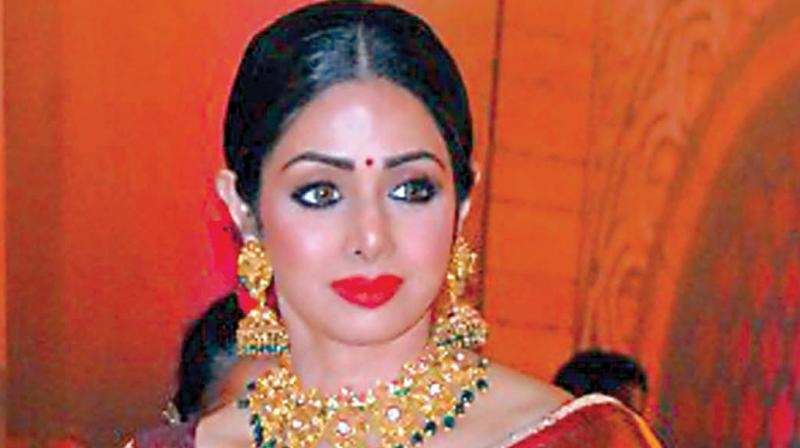 Sridevi post humously awarded 'best actress' for 'Mom'