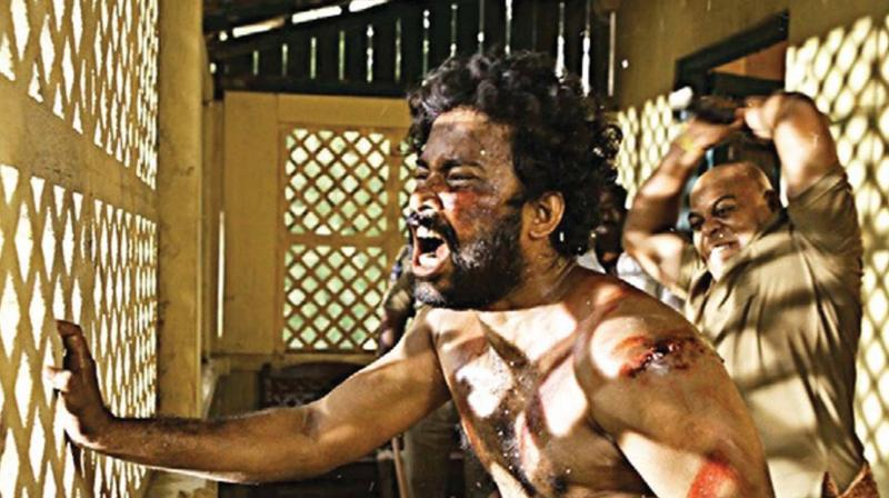 A scene from the National Award-winning Tamil movie Visaranai that deals with police brutality. (Representative image)