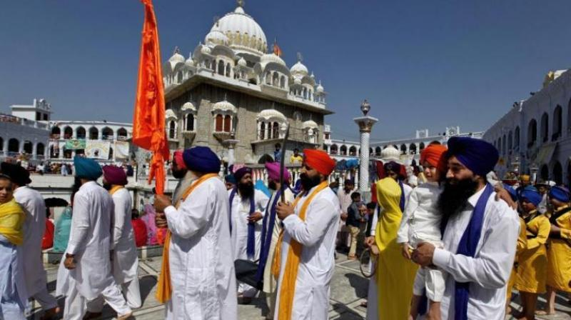 A jatha (batch) of 1,800 Indian Sikh pilgrims is currently visiting Pakistan. (Photo: APRepresentational)