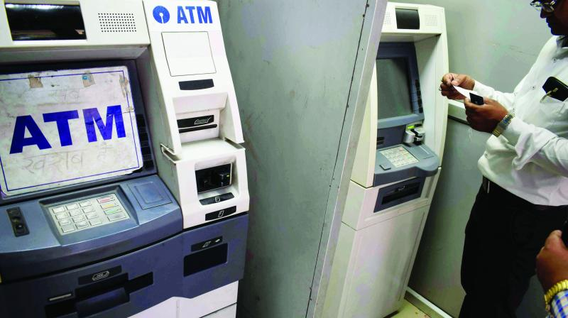 ATM's run out of cash in major cities across India