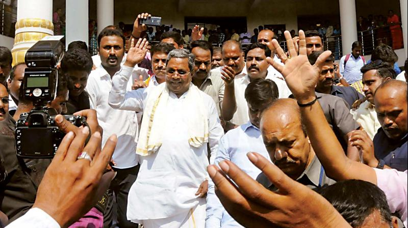 Bengaluru: Suspense over - Siddaramaiah to contest from two constituencies