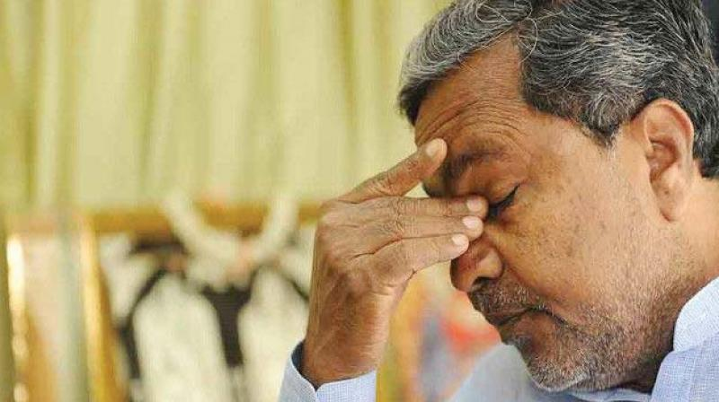 Party sources said Siddaramaiah 'kind of got emotional' as he spoke during legislature party meeting of Congress' loss despite his government's 'good developmental works'. (Photo: File)