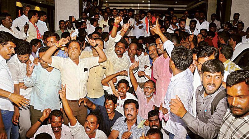 My son not contesting from Varuna constituency; Yeddyurappa