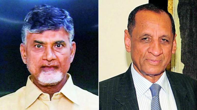N Chandrababu Naidu says Governor rallying Opposition against TD
