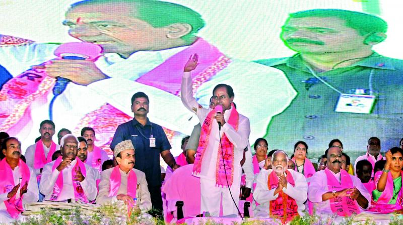 Telangana CM Chandrashekar Rao likely to announce plans for 2019 election today