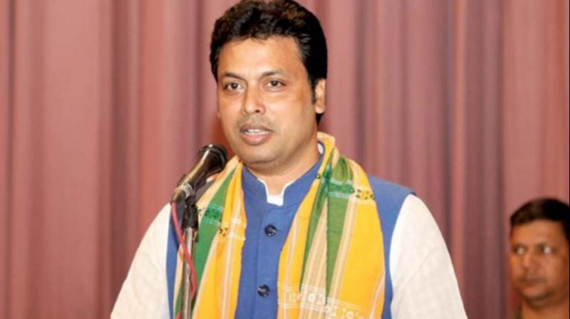 Tripura Chief Minister Biplab Deb says Rabindra Nath Tagore returned Nobel Prize in protest against British Raj. (Photo: File)