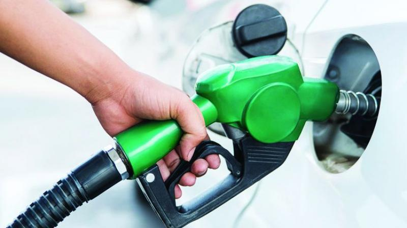 Petrol and diesel prices on Friday scaled new highs as rates were increased on account of rupee depreciation and rise in international oil rates.