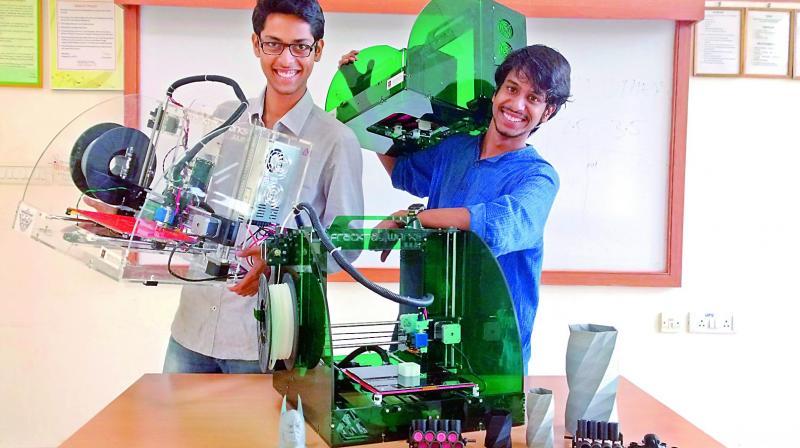 Rohit Asil and Vijay Raghav Varada