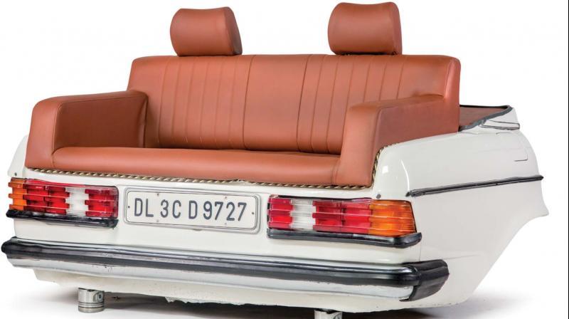 Mercedes sofa