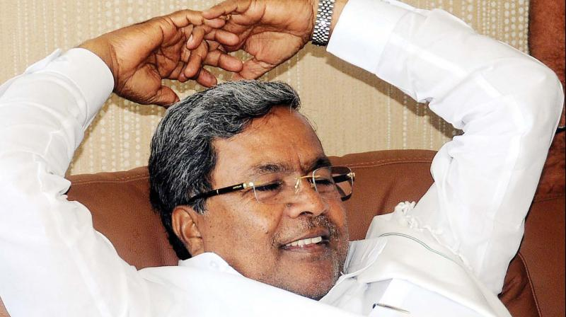 In his tweets, Karnataka Chief Minister Siddaramaiah expressed confidence that the Congress will come back to power in the state. (Photo: File)