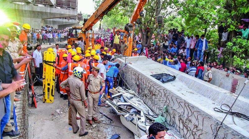 At Least 16 Killed in Varanasi Flyover Collapse