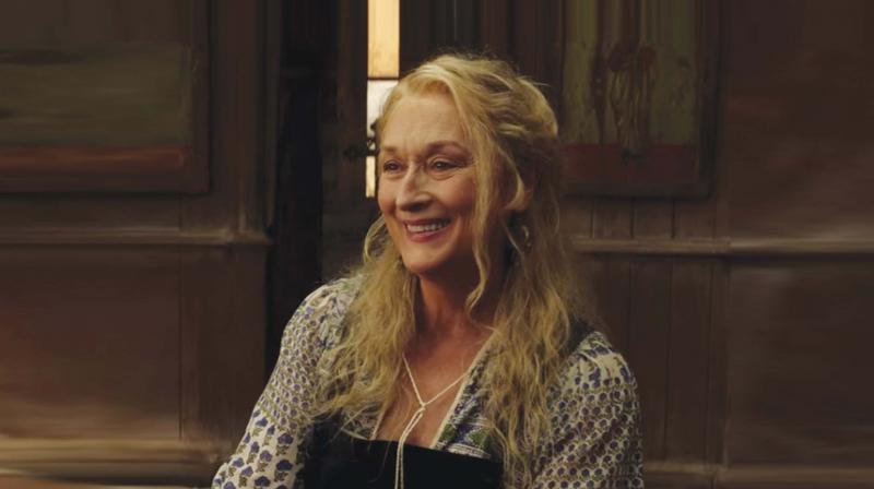 Meryl Streep in the sequel of Mamma Mia!