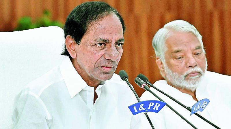 Chief Minister K. Chandrasekhar Rao  (Photo: DC)