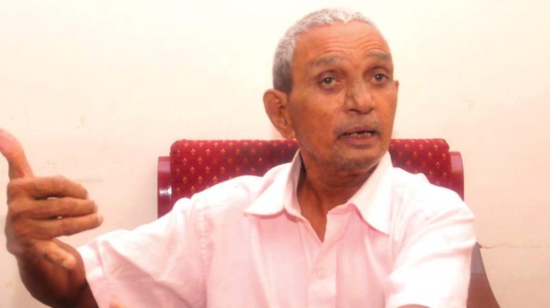 Pasumarthy Rattaiah Sarma (Photo: A.v. Muzafar)