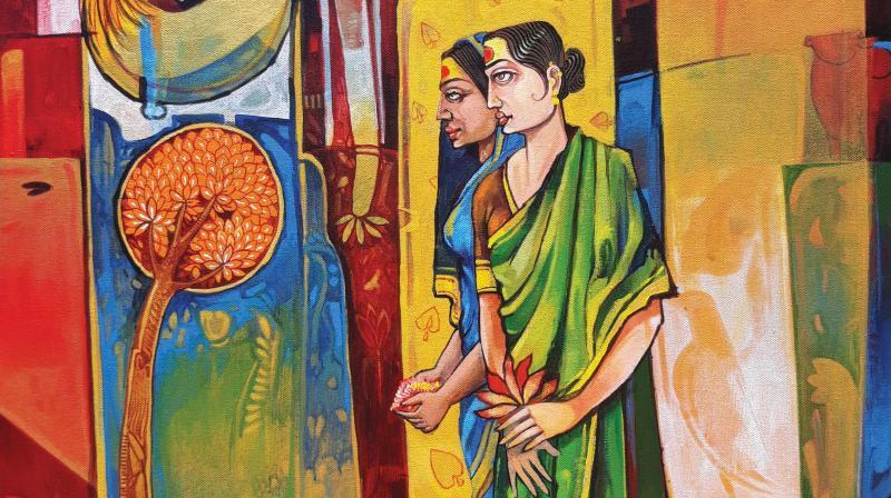 An expert's review Germination at Venkatappa Art Gallery.