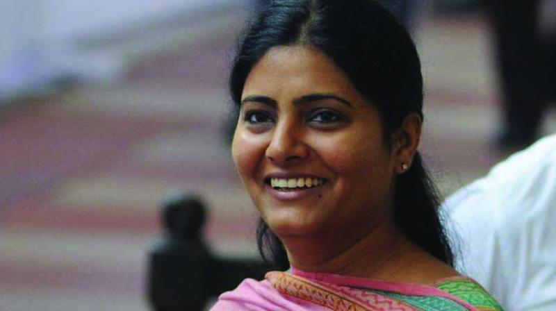 'My party's president has already expressed the sentiments of the party. I stand by it,' Union Minister Anupriya Patel said outside the Parliament. (Photo: File)