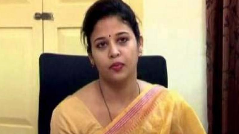 DC Rohini Sindhuri was said  to have been transferred under pressure from former district in-charge Minister A. Manju, who reportedly did not like her style of functioning.
