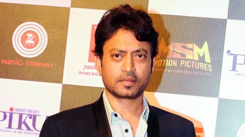 Irrfan accepted the award privately after two of his films were screened  at the festival this year.