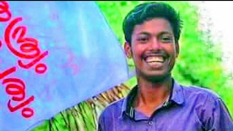 A clash between SFI and Campus Front activists over a graffiti had led to the killing of 20-year-old student leader Abhimanyu at Maharaja's College in Kochi. (Photo: File)