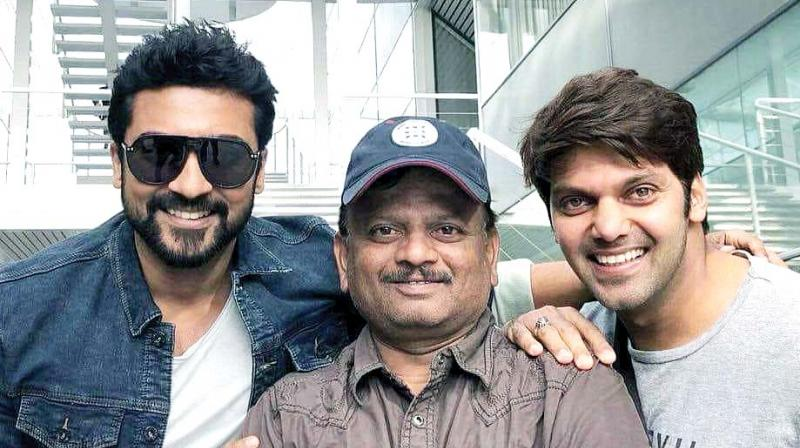 Suriya 37 directed by K.V. Anand was supposed to star Telugu actor Allu Sirish alongside Suriya and M'town star Mohanlal.