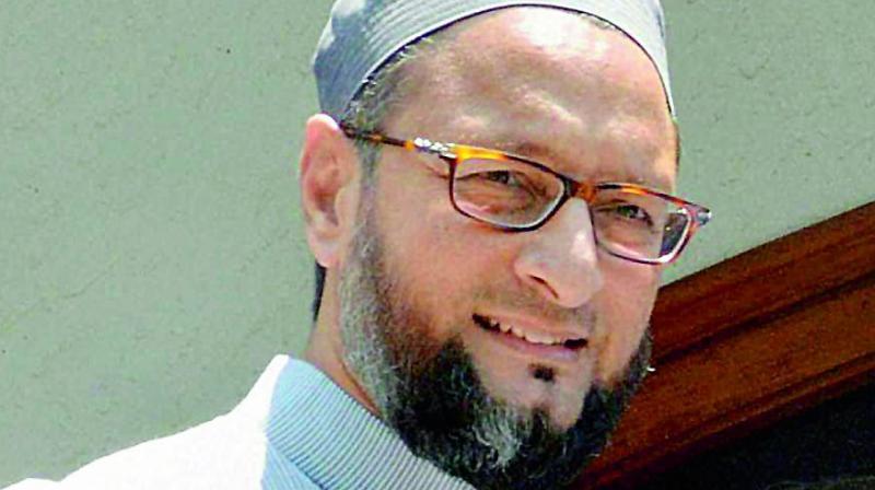 All India Majlis-e-Ittehadul Muslimeen chief Asaduddin Owaisi