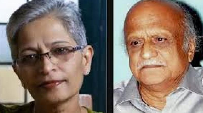 Ganesh Miskin, the hitman allegedly involved in the killing of journalist Gauri Lankesh, had also shot literatteur and researcher Dr M M Kalburgi dead in August 2015, according to the special investigation team (SIT). (Photo: File)
