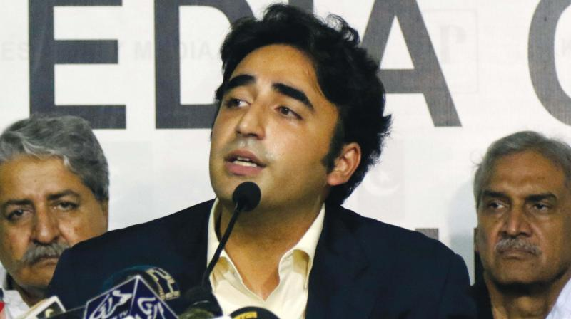 Bilawal, 31, said all opposition parties had decided that the government must step down. (Photo: File)