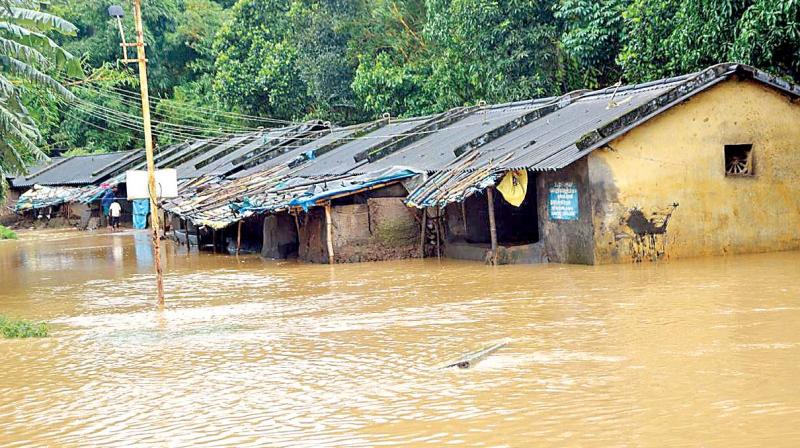 Rains and floods have hit 30 districts in Odisha, 26 districts in Maharashtra, 25 in Assam, 23 each in Uttar Pradesh and West Bengal, 14 in Kerala, 13 in Uttarakhand, 11 each in Karnataka and Nagaland, 10 in Gujarat. (Photo: File | DC)