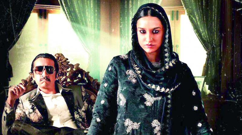 Shraddha on the poster of Haseena