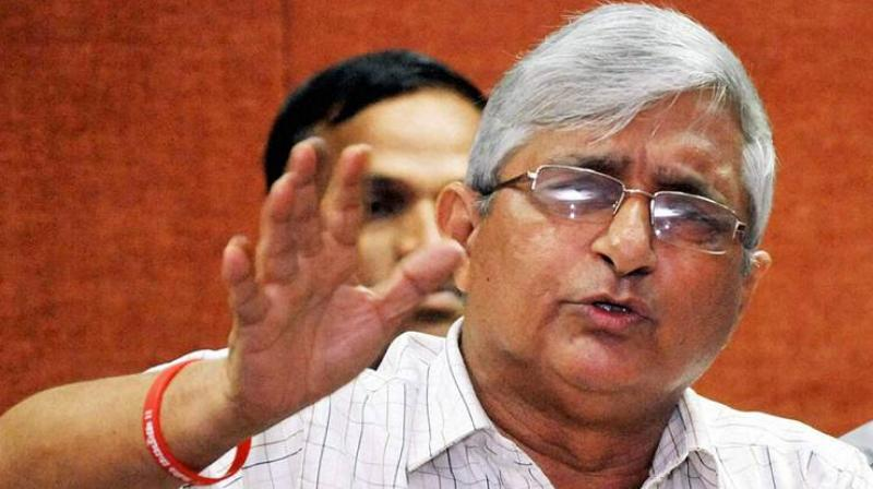 Former Goa RSS chief Subhash Velingkar  (Photo: File | PTI)