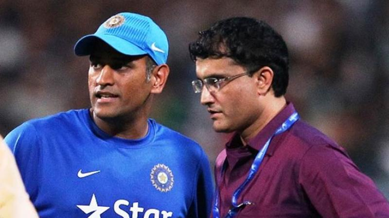 The BCCI president-elect Sourav Ganguly has made it clear that he would like to know the national selection committee's plans with regards to Mahendra Singh Dhoni's future. (Photo: BCCI)