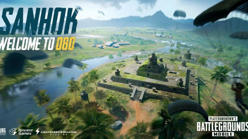 The major addition to the game will be the Sanhok map, which is essentially a fictional take on a tropical island.