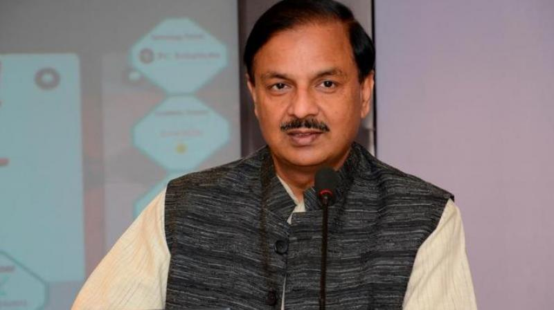 Union Minister of State for Tourism and Culture Mahesh Sharma (pic), while addressing a gathering here, asked how a Member of Parliament (MP) can fulfill wishes of people when God himself cannot. (Photo: File)