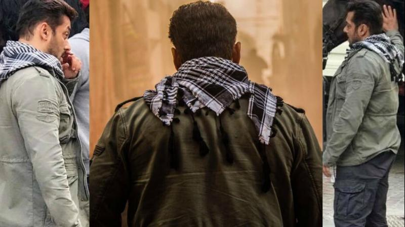 Salman Khan Has Got His Swag On As He Shoots For Tiger Zinda Hai In
