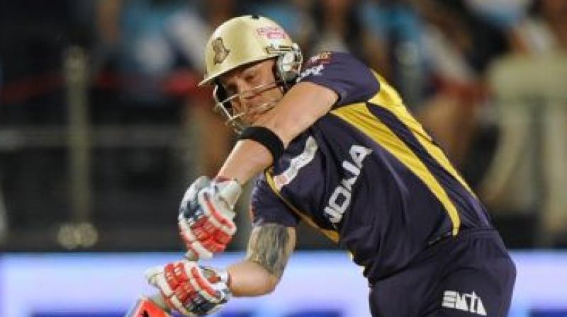 Brendon McCullum has been very closely associated with the KKR as a player first from 2008 to 2010 and again from 2012-2013 and was part of the IPL winning squad in 2012. (Photo:AFP)