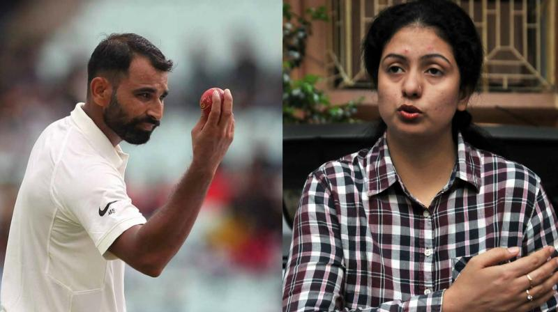 Mohammed Shami has shot down estranged wife Hasin Jahan's claims of him wanting to marry his elder brother's sister-in-law. (Photo: BCCI / PTI)