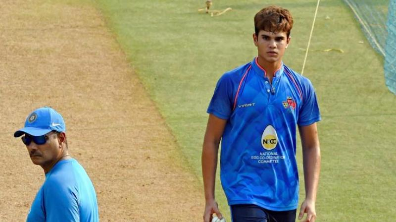 Arjun Tendulkar failed to find a place in the ODI team, but is expected to play a vital role in the four day game.