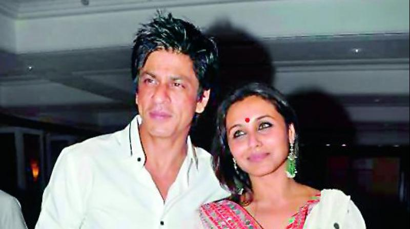 Shah Rukh Khan And Rani Mukerji