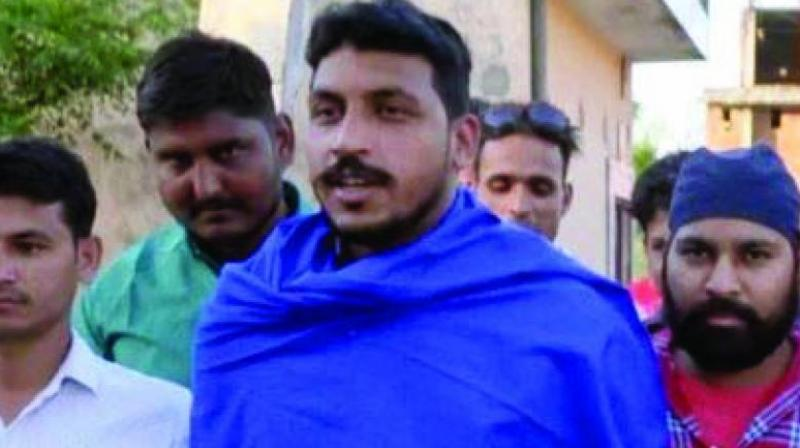 Bhim Army chief Chandrashekhar Azad has been arrested on charges of rioting and unlawful assembly and will be produced before a court on Thursday, a police official said. (Photo: File)