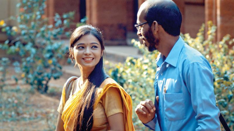 A still from the movie Ondu Motteya Kathe