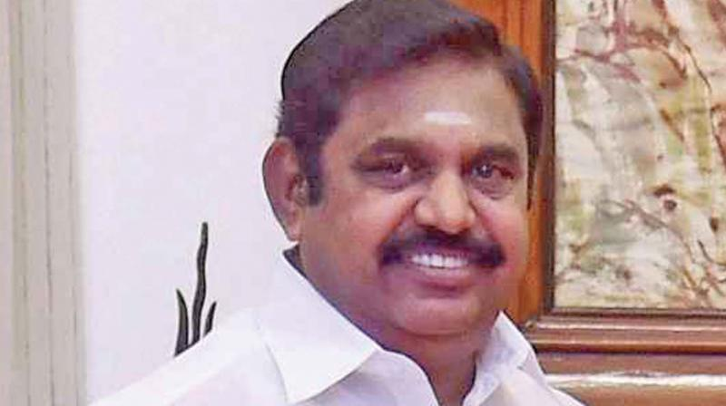 AIADMK top leader and Chief Minister K Palaniswami